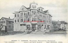Bedford House, New Bedford, Bedford Massachusetts, U.s. States, Far Away, Old And New, Childhood Memories, Houses, Exterior