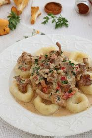 wesoła kuchnia: Sos kurkowo paprykowy Risotto, Meat, Chicken, Ethnic Recipes, Cubs
