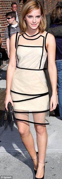 Emma Watson in Ossie Clark Collections
