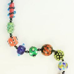 Have you seen the cover of High Strung A Glass Bead Mystery? Those are beads I made! #beads #highstrung #lampwork