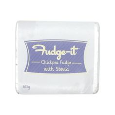 Fudge-It Chickpea Fudge With Stevia Organic Recipes, Vegan Recipes, Stevia, Superfoods, Fudge, January, Healthy Eating, Nutrition, Wellness
