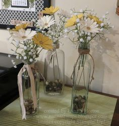Stampin' with Nanna: OK ... The Last of my Daisy Projects ... for now ...