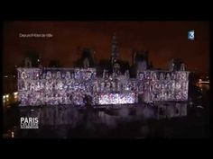 """70 Ans de la Libération de Paris """"MONUMENTAL""""SON et LUMIERE le 250814 PARIS"""