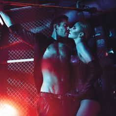 Michael Fassbender & Charlize Theron by Mario Sorrenti for W August 2012