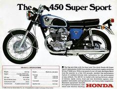 Honda CB 450 K-1