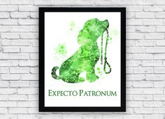 Hey, I found this really awesome Etsy listing at https://www.etsy.com/listing/274486678/expecto-patronum-dog-harry-potter