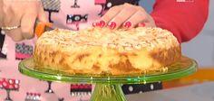 La ricetta della torta di mele e mandorle di Anna Moroni   Ultime Notizie Flash