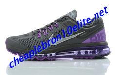 Anthracite Purple Nike Air Max 2013 Mens Dark Grey 554886 005 Air Max Sneakers, Sneakers Nike, Nike Air Max Mens, Purple Nikes, Star Shoes, Dark Grey, Running Shoes, Stars, Fashion