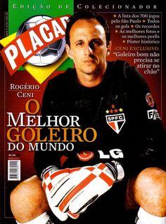 """Rogério Ceni (via Isto é São Paulo """"O FIM DE UMA ERA !!!"""")"""