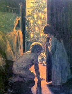 Christmas Morning, by Henry Mosler, c.1916