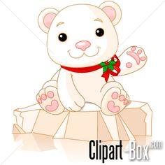 CLIPART CUTE POLAR BEAR