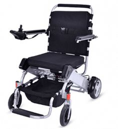 fa4b4894e28 Giantex Lightweight 55 lbs only Heavy Duty Supports 330 lbs Aluminum Foldable  Wheelchair Electric Power Propelled Portable