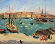 Le port de Marseille, 1920 - Charles Camoin (1879 - 1965)