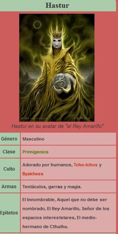 Criaturas de Lovecraft