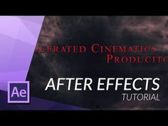 HOW TO CREATE A HORROR FILM TITLE IN AFTER EFFECTS - YouTube After Effects, Motion Design, Movie Intro, Style Movie, After Effect Tutorial, Horror Film, Animation, Graphic Design Tutorials, Photography And Videography