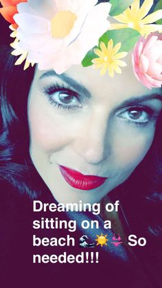 Awesome Lana #NYC #LanasSnapChat Wednesday 5-18-16 Lana having loads of fun experimenting with #SnapChat filters