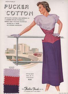 Color blocking c.1950s