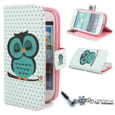 "Owl Design Wallet PU Leather Flip Case Cover for Samsung Galaxy S3 Mini i8190 + One "" ivencase "" Anti-dust Plug ivencase,http://www.amazon.com/dp/B00IN026ME/ref=cm_sw_r_pi_dp_g3Avtb03F0J2NKBM"