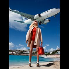 Marvelous! Off The Runway Fashion Shoot - Martha Hunt Spring Fashion Editorial - Harper's BAZAAR