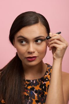 4 Cat-Eye DIYs For YOUR Eye Shape #refinery29  http://www.refinery29.com/cat-eye-makeup-ideas#slide26  Then, gradually make the line thicker as you continue along the lashline.