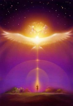 Is the human soul to rise on the wings of enthusia. Meditation, Ascended Masters, Prophetic Art, Spirited Art, Human Soul, Human Human, Visionary Art, Angel Art, Sacred Art