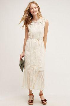 Marguerite Lace Dress #anthropologie grey brod angl, coral lace remn, coral floral primt remn,