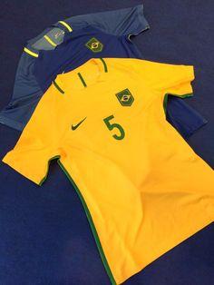 Só a bandeira, sem escudo da CBF: veja como será a camisa da seleção #globoesporte