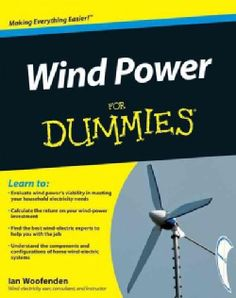 Shop for Wind Power for Dummies (Paperback). Free Shipping on orders over $45 at…