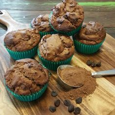 Oops I did it again! I can& resist some delicious Milo goodness! 30 Second Milo Muffins! These muffins are de. Egg Free Recipes, Muffin Recipes, Sweet Recipes, Cake Recipes, Snack Recipes, Dessert Recipes, Choc Muffins, Baking Muffins, Milo Recipe