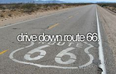 drive down route 66