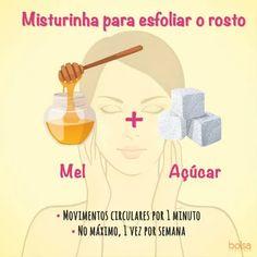 11 misturinhas que são tudo que você precisa para tratar seu rosto - VIX Skin Care, Exfoliate Face, Circular Motion, Home Face Masks, Color Fashion, Homemade Beauty Tips, Skin Treatments, Skincare, Asian Skincare
