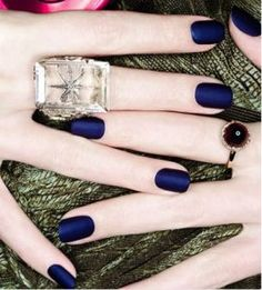 Russian Navy Matte by OPI. obsessed.