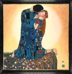 soulmate24.com Beso en azul. Klimt
