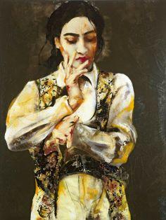 Lita Cabellut - Contemporary Artist - Figurative Painting
