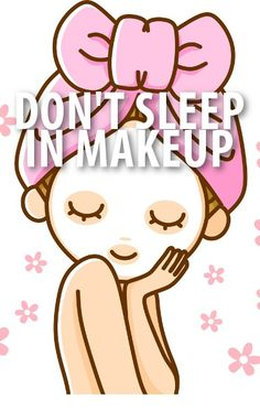 Do you leave your makeup on at nighttime? Dr Oz showed how the bacteria can damage your pores and build up. Check out his list of makeup removal solutions. http://www.recapo.com/dr-oz/dr-oz-beauty/dr-oz-makeup-damages-pores-makeup-removal-facial-care/
