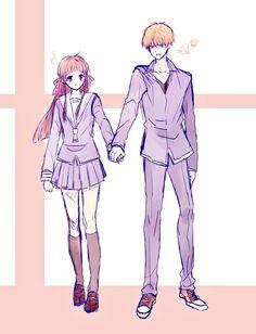 Girls Anime, Anime Couples Manga, Cute Anime Couples, Manga Girl, Anime Manga, Anime Art, Fruits Basket Cosplay, Fruits Basket Manga, Cardcaptor Sakura