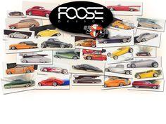 Chip Foose: + de 50 bocetos para OverHaulin! - Taringa!