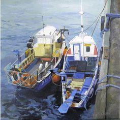 Fishing Boats North Shields  -  North of England art club