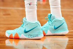 """3b9eb886054323 Jayson Tatum Debuted the Nike Kyrie 4 """"Power is Female"""" in Game 7"""