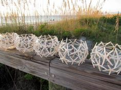 Beach Wedding Starfish Candles