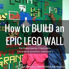 This post is a tutorial on how to build your own Epic LEGO Wall. I've had many, many people ask me how to build a LEGO wall, and while there's tons of great information out there, I'm going to put Lego Wall, Sensory Wall, Lego Room, Toy Rooms, Learning Spaces, Media Center, Kid Spaces, Legos, Kids Room