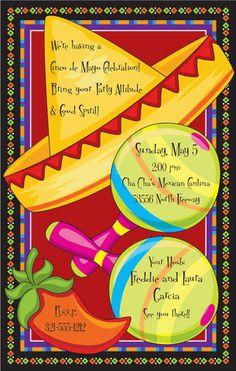 Mexican Fiesta Invitation Templates Free Quot Fiesta Invites
