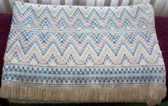 swedish weaving | Swedish Weaving Afghans