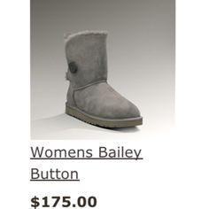 Gray Bailey button UGG's! Wantttt!