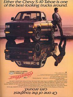 Chevy S-10 ad.