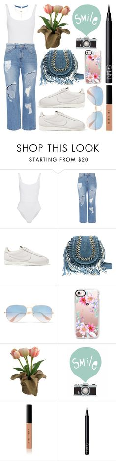 """""""SMILEE!"""" by shanelala ❤ liked on Polyvore featuring Eres, Steve J & Yoni P, NIKE, Ray-Ban, Casetify, SONOMA Goods for Life, Seventy Tree, Bobbi Brown Cosmetics, NARS Cosmetics and Jules Smith"""