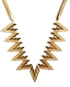 Falcon Wreath Necklace