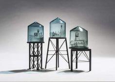 Glass art featuring urban scenes by Jeremy Lepisto | eMORFES