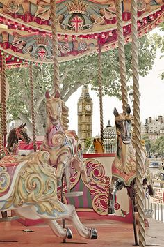carousel at southbank   by ilana s