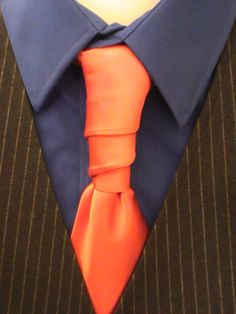 The Van Wijk Knot for your Necktie.  Click through for the how to video.